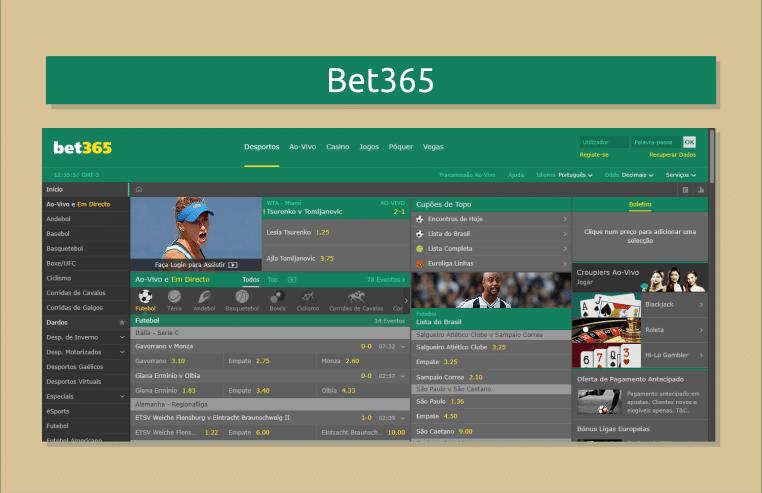 49b97678154ed A Bet365 é um site que tem se tornado mais acessível aos brasileiros  facilitando os seus métodos de depósito. A marca investe pesado em  propaganda e muito ...