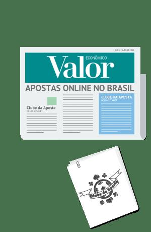 Clube da Aposta no Jornal Valor Econômico