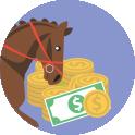 Realizar apostas em cavalos