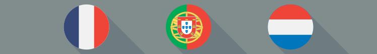 Prognósticos para os campeonatos, frances, português e holandes