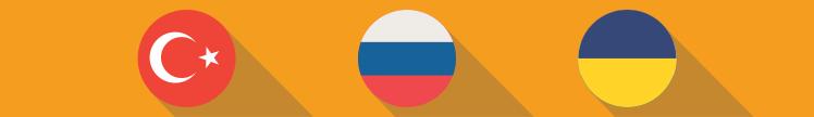 Prognósticos para os campeonatos turco, russo e ucraniano