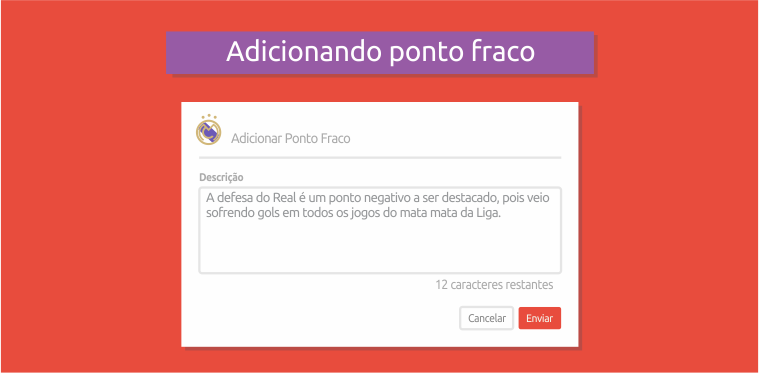 Pontos Fracos Real Madrid