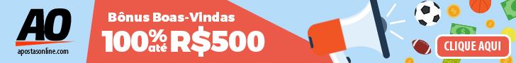 Aposte no ApostasOnline e ganhe um bônus de R$500