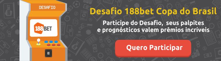 Participe do Desafio 188bet Copa do Brasil