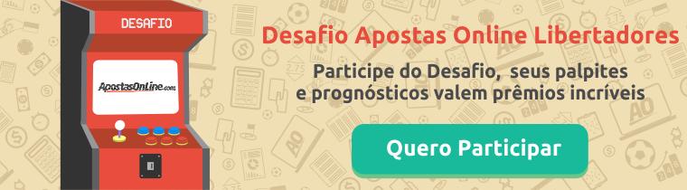 Participe do Desafio Apostas Online Libertadores 2017