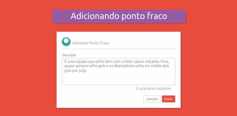 Ponto fraco Palmeiras - Desafio Apostas Online