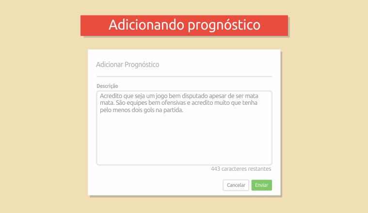 Prognóstico final - Desafio Apostas Online