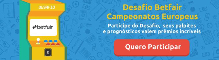 Participe do Desafio Betfair Campeonatos Europeus