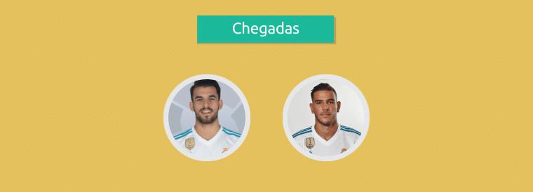 Jogadores contratados pelo Real Madrid nessa temporada