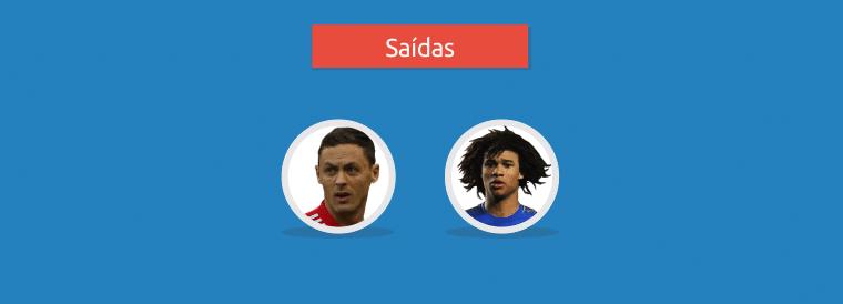 Saídas Chelsea nessa temporada