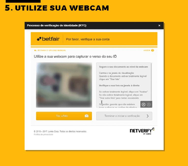 Utilize Sua Webcam