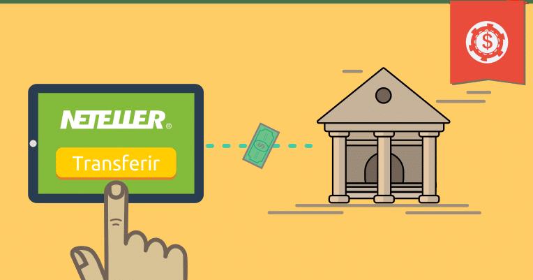 Como transferir créditos da neteller para sua conta bancária
