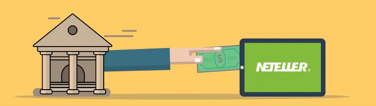 Como transferir dinheiro de uma conta bancária para Neteller