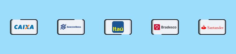 Os bancos preferidos pelos usuários para depositar e sacar na Batfair