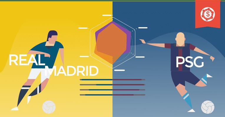 Prognósticos da Champions League - Real Madrid x PSG