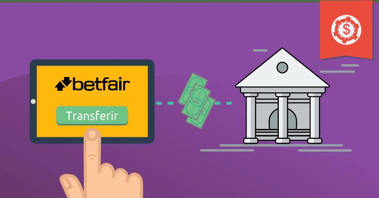 Como transferir dinheiro da Betfair para sua conta
