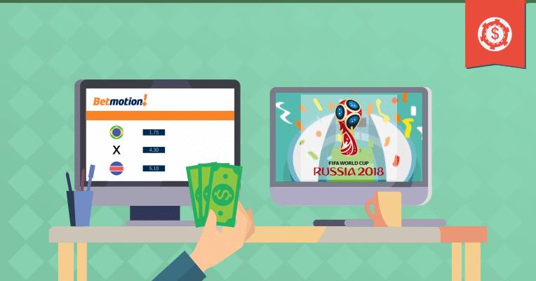 Como apostar na Copa do Mundo pela Betmotion