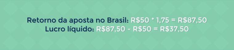 Retorno das apostas no Brasil