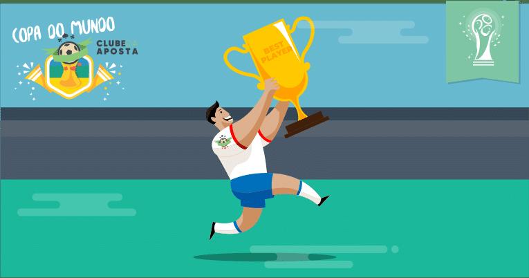 Como apostar no melhor jogador da Copa do Mundo