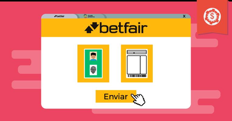 Como resolver problemas de envio de documentos para a Betfair?