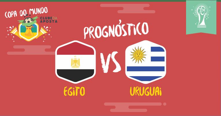 Prognósticos para Egito - Uruguai