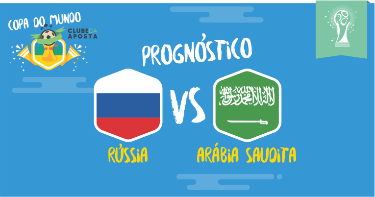 Prognósticos Russia Vs Arábia Saudita