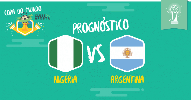 f8f8e5243c Prognóstico para Nigéria x Argentina • 26 06 • Copa do Mundo 2018
