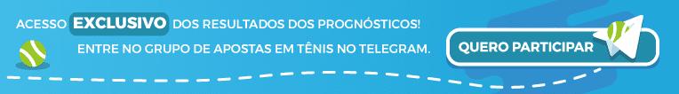 grupo de apostas em tênis no Telegram.