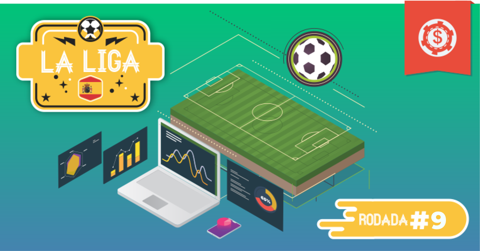 Prognósticos La Liga - Campeonato Espanhol • Apostas para a 9ª rodada 7374a4787044a
