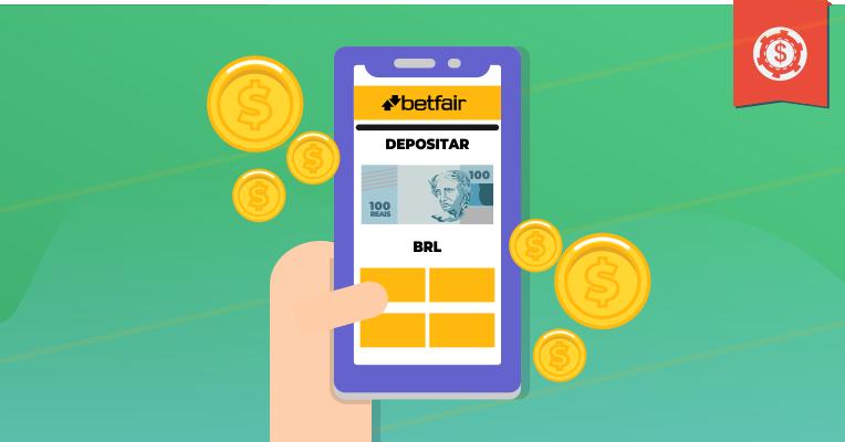 Depositar em reais na Betfair - Agora será possível