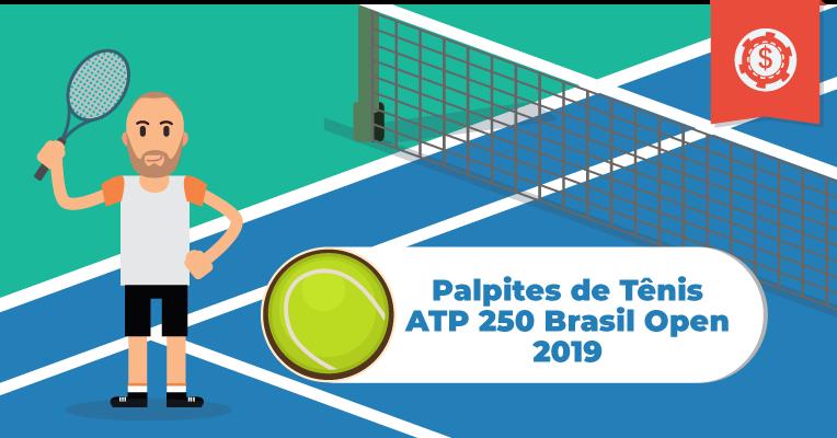 Palpites de Tênis • ATP 250 Brasil Open • 2019