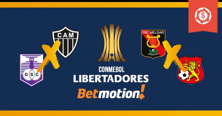Prognósticos Libertadores • Fase de Classificação • Semana 6