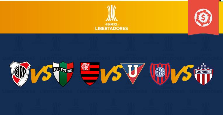 Prognósticos Copa Libertadores • Rodada 2