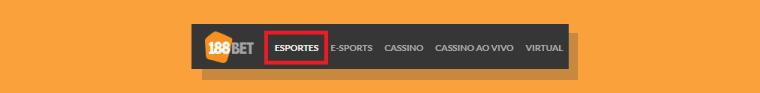 Localizando os jogos de e-sports na 188Bet