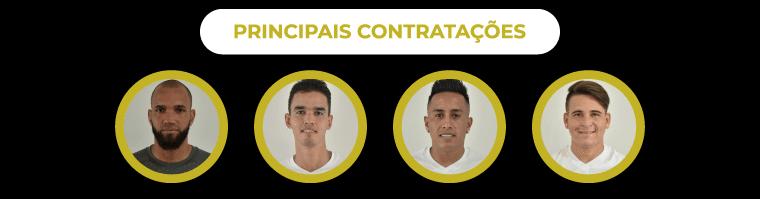 Principais contratações de 2019