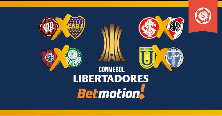 Prognósticos da Copa Libertadores • Rodada 3