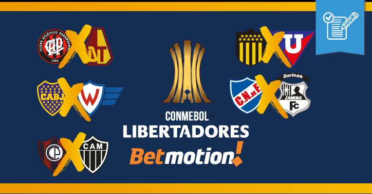 Prognósticos da Copa Libertadores - Rodada 4