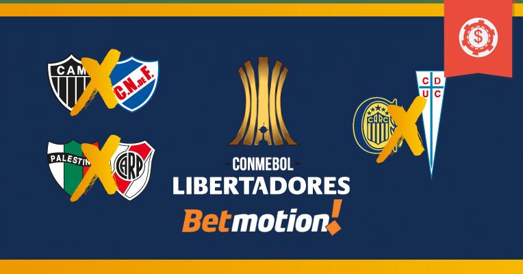 Prognósticos da Copa Libertadores - Rodada 5