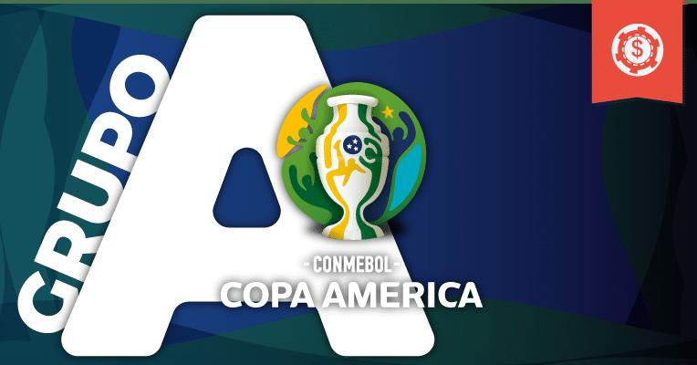 Apostas Copa América 2019 • Grupo A
