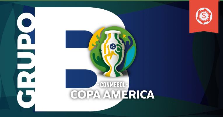 Apostas Copa América 2019 • Grupo B