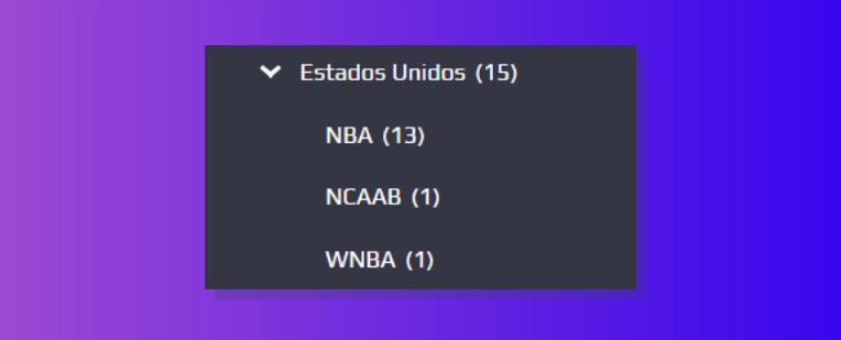 Jogos da NBA disponíveis para apostar