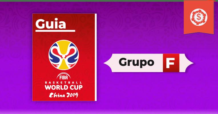 Guia de apostas no Mundia de Basquete 2019 - Grupo F