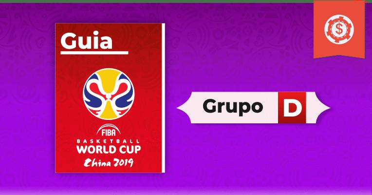Guia de apostas no Mundial de Basquete - Grupo D