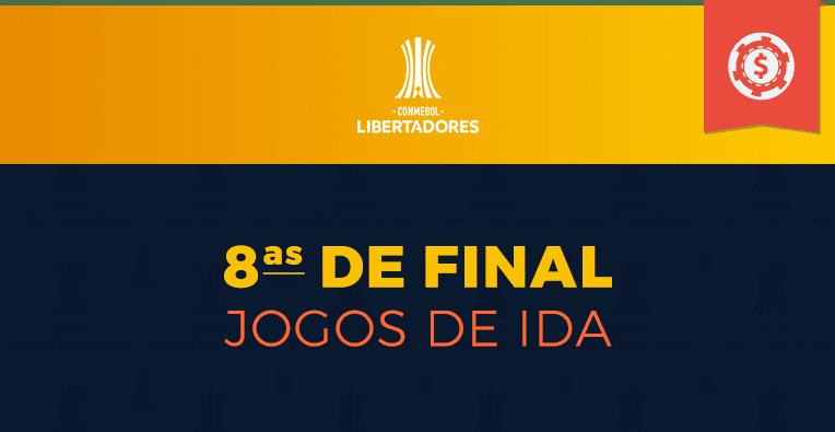 Copa Libertadores - Oitavas de Final - Jogos de ida