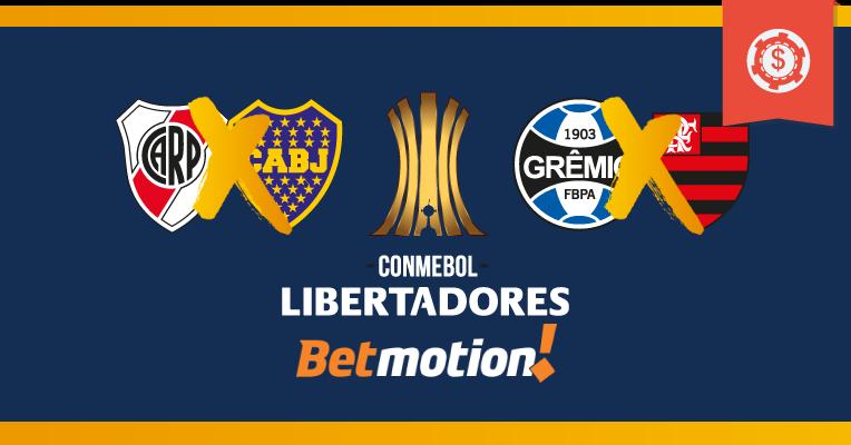 Palpites da Copa Libertadores - Semifinais - Jogos de ida