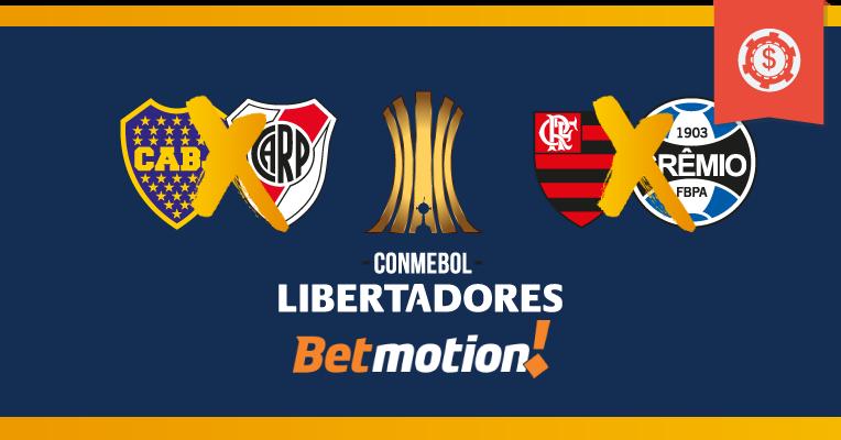 Palpites da Copa Libertadores - Semifinais - Jogos de Volta