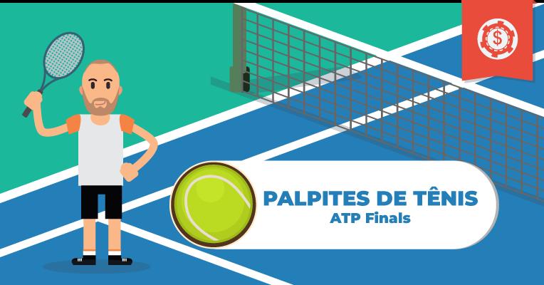 Palpites e Apostas em Tênis • ATP Finals • 2019