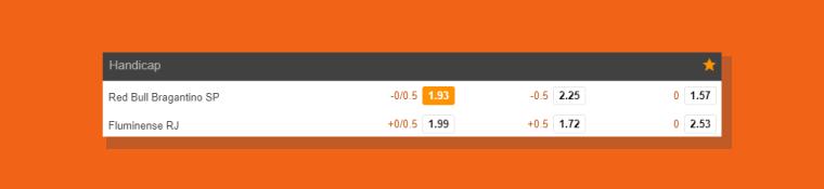 Selecionar Odds 188bet