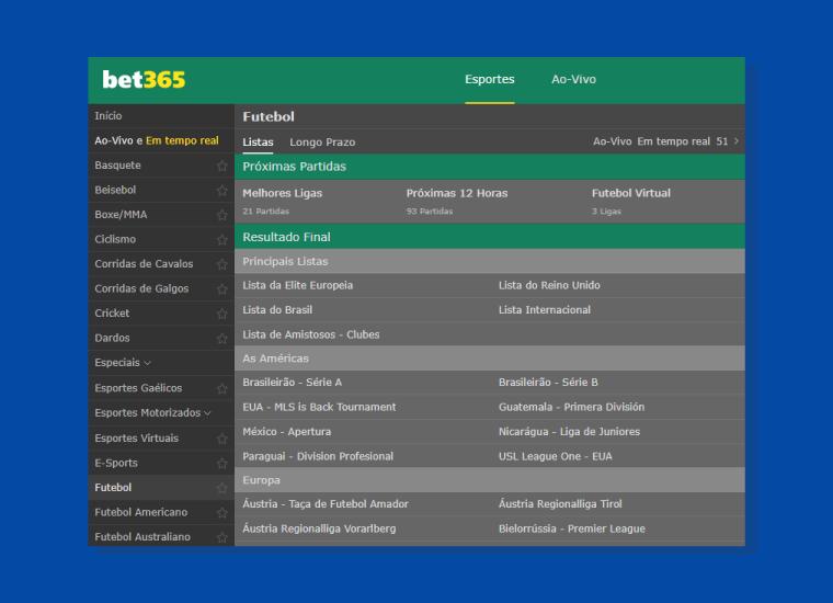 Serie Competicoes Brasileirao Bet365